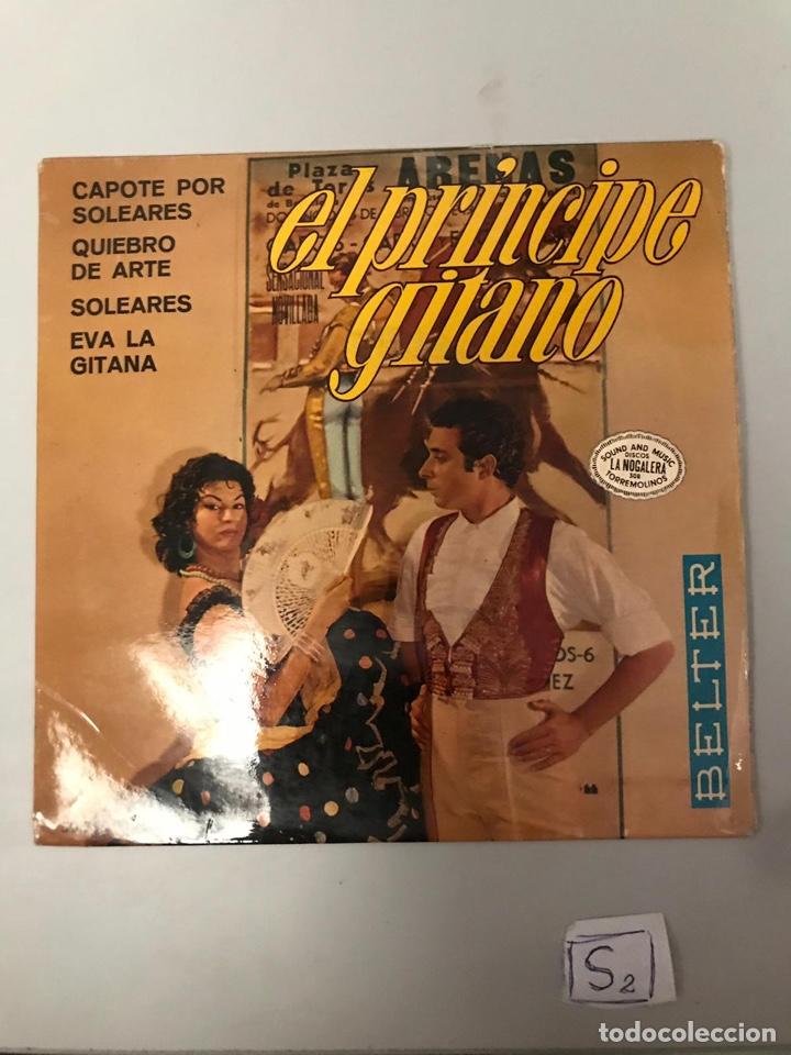EL PRINCIPE GITANO (Música - Discos - Singles Vinilo - Flamenco, Canción española y Cuplé)