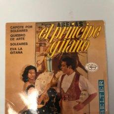 Discos de vinilo: EL PRINCIPE GITANO. Lote 175270984