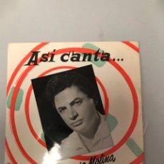 Discos de vinilo: ANTONIO MOLINA. Lote 175272909