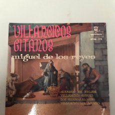 Discos de vinilo: VILLANCICOS GITANOS. Lote 175274977