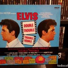 Discos de vinilo: ELVIS PRESLEY - DOUBLE TROUBLE. Lote 175278800