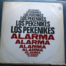 Discos de vinilo: LOS PEKENIKES - ALARMA - LP. Lote 175282540