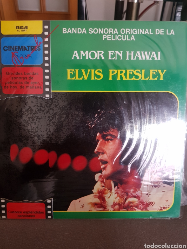 ELVIS PRESLEY LP (Música - Discos - LP Vinilo - Pop - Rock - Extranjero de los 70)