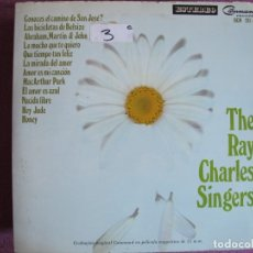 Dischi in vinile: LP - THE RAY CHARLES SINGERS - SAME (SPAIN, COMMAND RECORDS 1969, PORTADA DOBLE). Lote 175285488