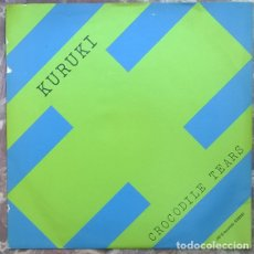 Discos de vinilo: KURUKI. CROCODILE TEARS/ W.S. REMAKE. JW'S RECORDS (458191) BÉLGICA 1981 SINGLE. Lote 175288378