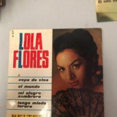 Discos de vinilo: LOLA FLORES. Lote 175290184