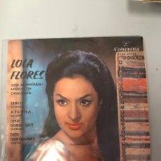 Discos de vinilo: LOLA FLORES. Lote 175294607