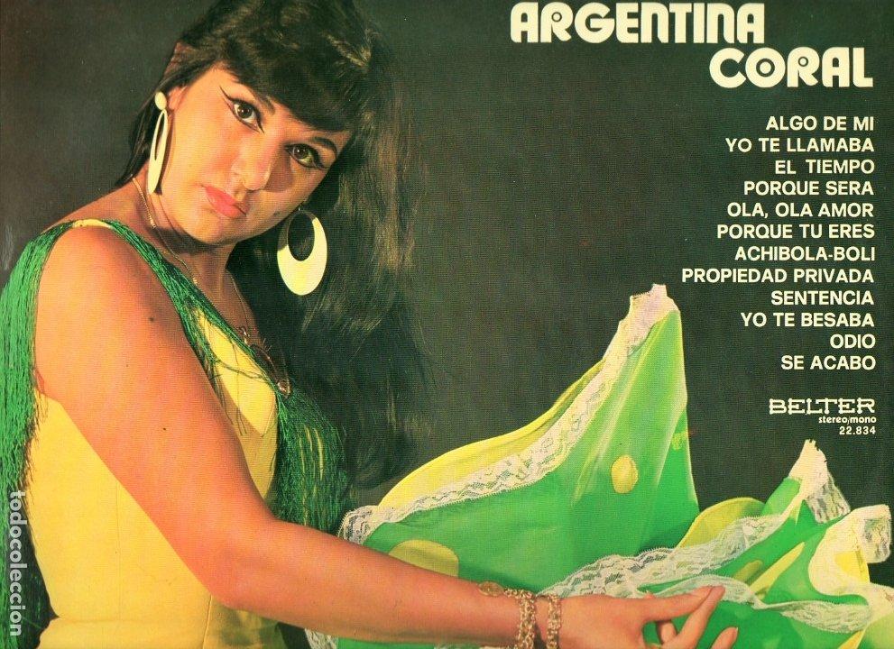RUMBEANDO CON ARGENTINA CORAL 1974 BELTER 22.834 (Música - Discos - LP Vinilo - Flamenco, Canción española y Cuplé)