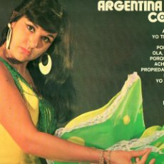 Discos de vinilo: RUMBEANDO CON ARGENTINA CORAL 1974 BELTER 22.834. Lote 175295809