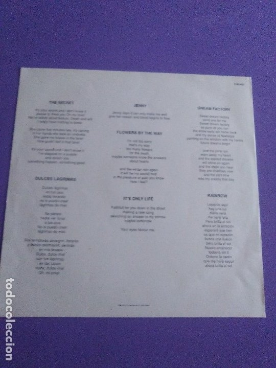Discos de vinilo: JOYA LP ORIGINAL.EL REGALO DE SILVIA. 914FM37. LA FABRICA MAGNETICA 1991/INDIE/NOISE POP/GALAXIE 500 - Foto 9 - 175298033