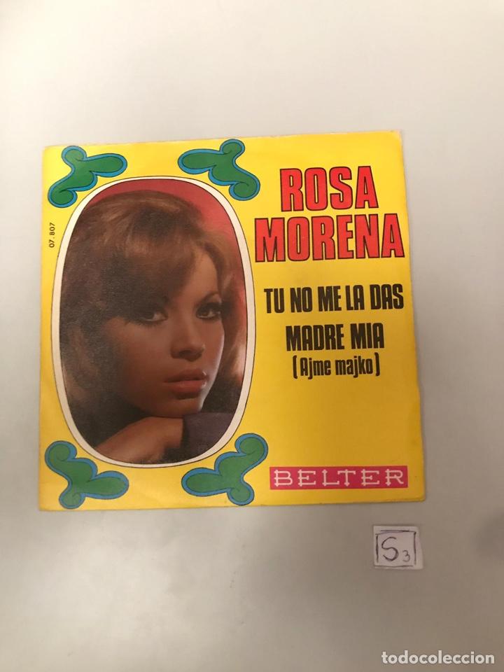 ROSA MORENO (Música - Discos - Singles Vinilo - Flamenco, Canción española y Cuplé)
