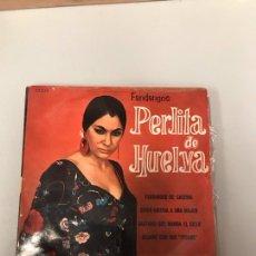 Discos de vinilo: PERLITA DE HUELVA. Lote 175301379