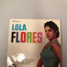 Discos de vinilo: LOLA FLORES. Lote 175301607