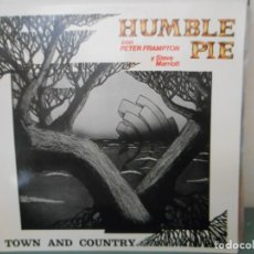 Discos de vinilo: HUMBLE PIE - TOWN AND COUNTRY. Lote 175301907