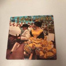 Discos de vinilo: RAFAEL FARINA. Lote 175302124