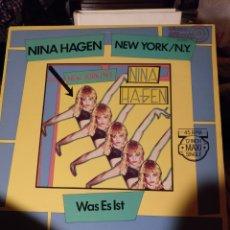 Discos de vinilo: NINA HAGEN, NEW YORK. CBS 1983. Lote 175303707