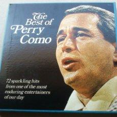 Discos de vinilo: THE BEST OF PERRY COMO - 6 LP - READER'S DIGEST - 1971 - NUEVO - CONSERVA HOJA GARANTÍA. Lote 175304870