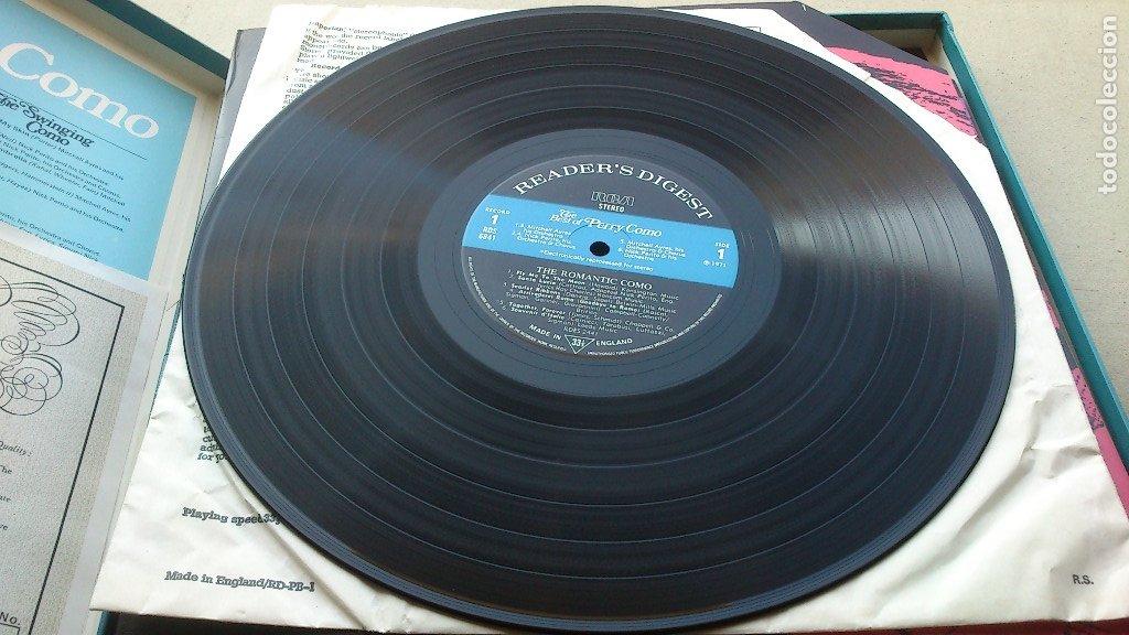 Discos de vinilo: THE BEST OF PERRY COMO - 6 LP - READER'S DIGEST - 1971 - NUEVO - CONSERVA HOJA GARANTÍA - Foto 5 - 175304870