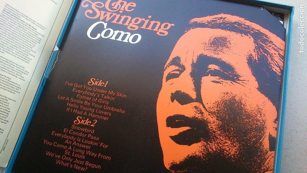 Discos de vinilo: THE BEST OF PERRY COMO - 6 LP - READER'S DIGEST - 1971 - NUEVO - CONSERVA HOJA GARANTÍA - Foto 8 - 175304870
