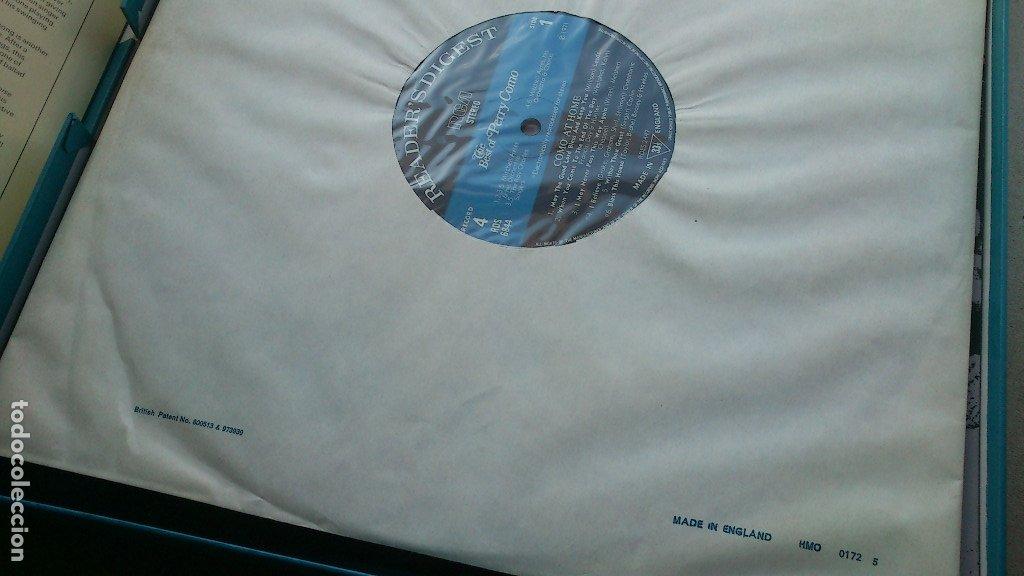 Discos de vinilo: THE BEST OF PERRY COMO - 6 LP - READER'S DIGEST - 1971 - NUEVO - CONSERVA HOJA GARANTÍA - Foto 11 - 175304870