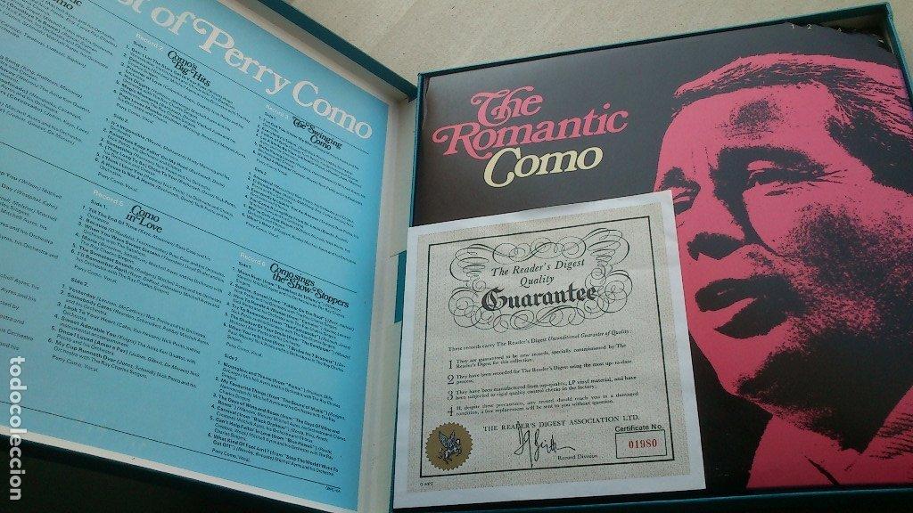 Discos de vinilo: THE BEST OF PERRY COMO - 6 LP - READER'S DIGEST - 1971 - NUEVO - CONSERVA HOJA GARANTÍA - Foto 16 - 175304870