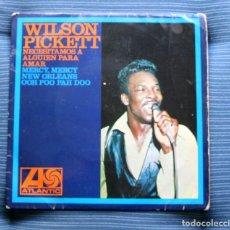 Discos de vinilo: WILSON PICKETT- NECESITAMOS A ALGUIEN PARA AMAR +3- SPANISH EP 1967.. Lote 175313357
