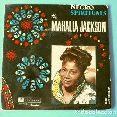 Discos de vinilo: MAHALIA JACKSON (EP. 1961) NEGRO SPITITUALS - IN THE UPPER ROOM - BLUES ESPIRITUALES - GOSPEL. Lote 175314198