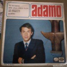 Discos de vinilo: ADAMO - TÚ NOMBRE + 3. Lote 175328275