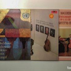 Discos de vinilo: 100 DISCOS LP DE MÚSICA CLÁSICA. Lote 175328347