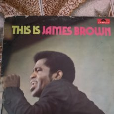 Discos de vinilo: VINILO THIS IS JAMES BROWN. Lote 175330454