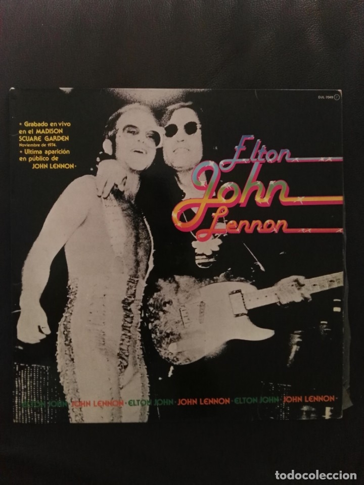 Elton John Lennon Directo Madison Square Garde Sold Through Direct Sale 175332784