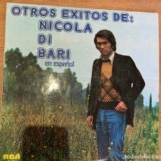 Discos de vinilo: NICOLA DI BARI – OTROS EXITOS DE NICOLA DI BARI EN ESPAÑOL. DISCO VINILO. Lote 175333035