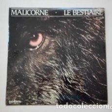Discos de vinilo: MALICORNE LP LE BESTIAIRE ZAFIRO 1979 GUIMBARDA. Lote 175337163
