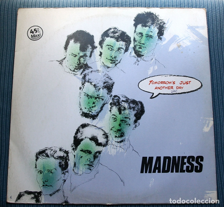 MADNESS - TOMORROWS JUST (Música - Discos de Vinilo - Maxi Singles - Reggae - Ska)