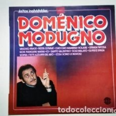 Discos de vinilo: DOMENICO MODUGNO LP ÉXITOS INOLVIDABLES GRABACIÓN ORIGINAL DOBLON 1980. Lote 175343063