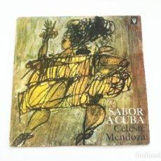 Discos de vinilo: CELESTE MENDOZA. SABOR A CUBA. Lote 175343314
