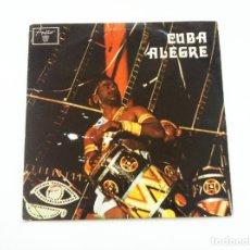 Discos de vinilo: VARIOUS. CUBA ALEGRE. Lote 175343489