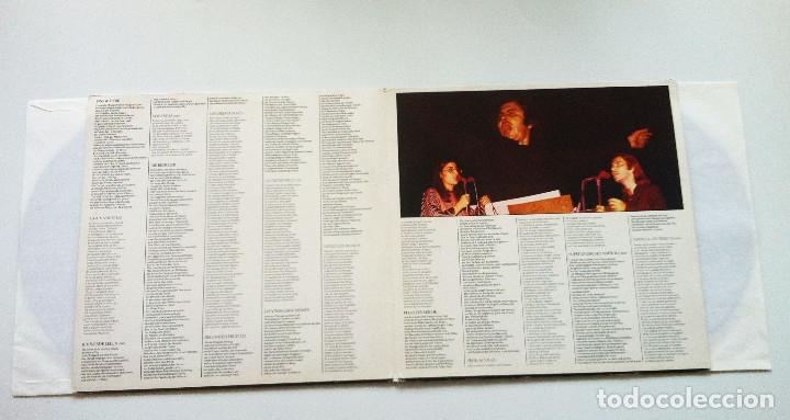 Discos de vinilo: MIKIS THEODORAKIS, PABLO NERUDA. CANTO GENERAL - Foto 2 - 175344802