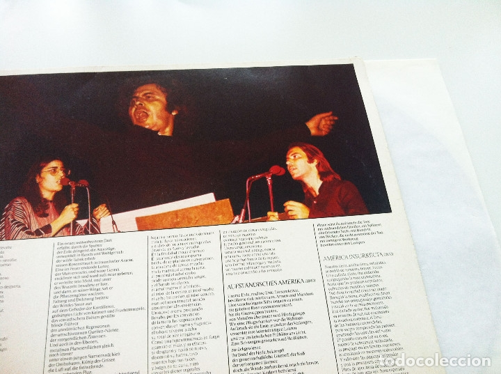 Discos de vinilo: MIKIS THEODORAKIS, PABLO NERUDA. CANTO GENERAL - Foto 3 - 175344802