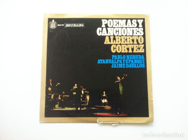 ALBERTO CORTEZ. POEMAS Y CANCIONES (Música - Discos de Vinilo - EPs - Cantautores Internacionales)