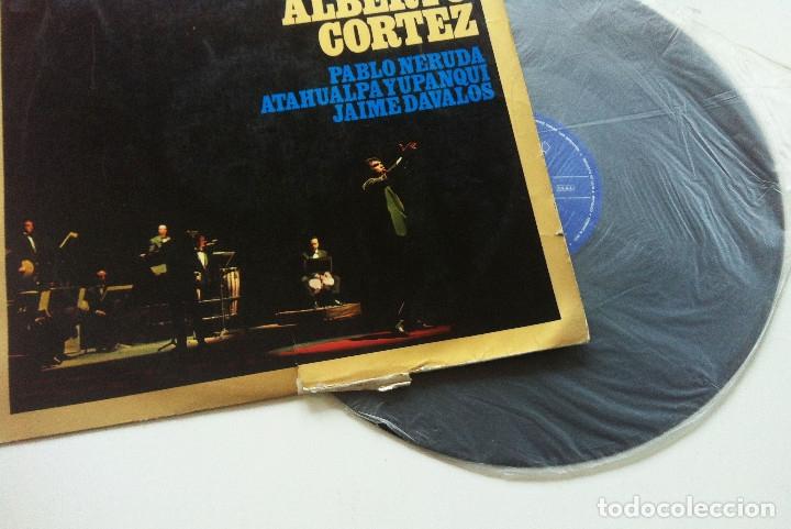 Discos de vinilo: ALBERTO CORTEZ. POEMAS Y CANCIONES - Foto 2 - 175347633
