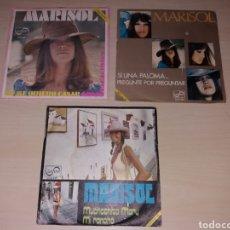 Discos de vinilo: LOTE SINGLES MARISOL. Lote 175352210