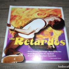 Discos de vinilo: THE RETARDOS - SAFETY PIN 10 PULGADAS. Lote 175352344