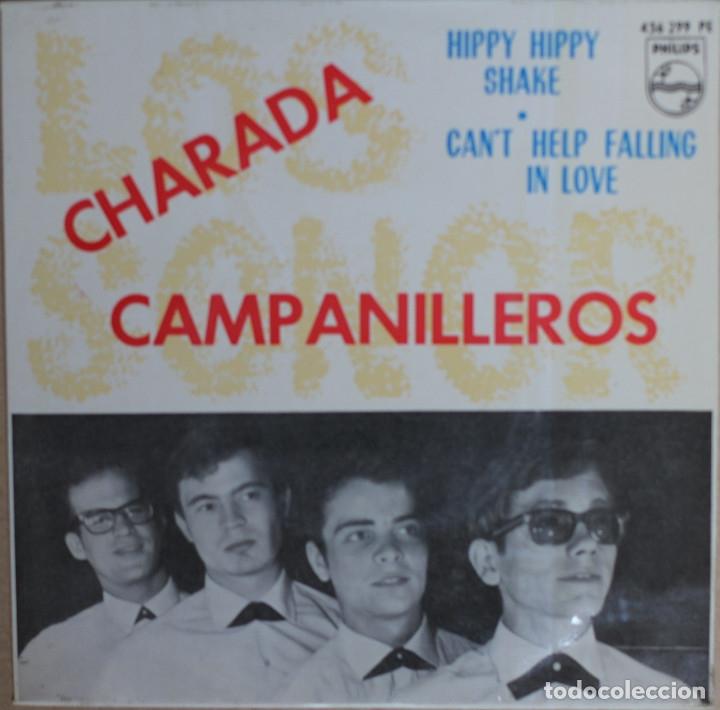 LOS SONOR//CHARADA+3//1964//EP//PHILIPS//ESPAÑA (VG+VG+) (Música - Discos de Vinilo - EPs - Grupos Españoles 50 y 60)
