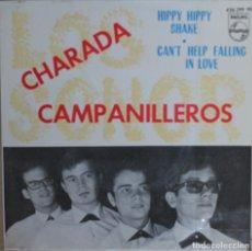 Discos de vinilo: LOS SONOR//CHARADA+3//1964//EP//PHILIPS//ESPAÑA (VG+VG+). Lote 175355210