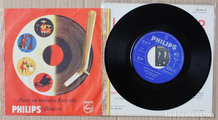 Discos de vinilo: LOS SONOR//CHARADA+3//1964//EP//PHILIPS//ESPAÑA (VG+VG+) - Foto 3 - 175355210