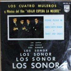 Discos de vinilo: LOS SONOR//LOS CUATRO MULEROS+3//1964//EP//PHILIPS//ESPAÑA (VG VG). Lote 175356029