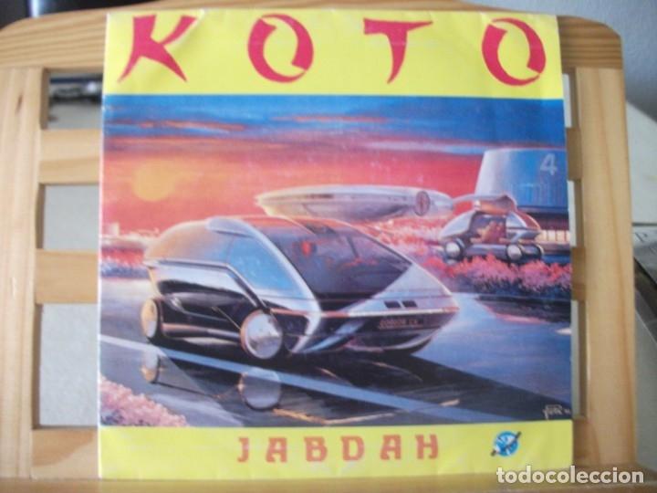 SINGLE DE KOTO , JABDAH (2 VERSIONES), AÑO 1987, VINILO EN MUY BUEN ESTADO (Música - Discos - Singles Vinilo - Electrónica, Avantgarde y Experimental)