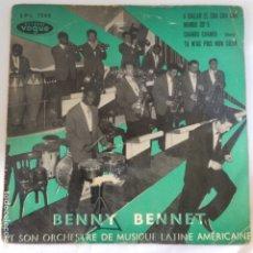 Discos de vinilo: BENNY BENNET SINGLE. Lote 175384172