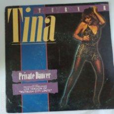Discos de vinilo: TINA TURNER - PRIVATE DANCER (FULL LENGTH VERSION. Lote 175385609